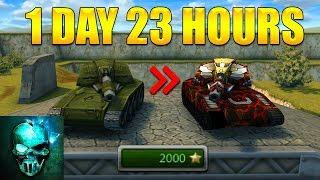 Completing Shaft XT & Legacy Hornet Challenge in 47 HOURS!! - Tanki Online - Ghost Animator TO