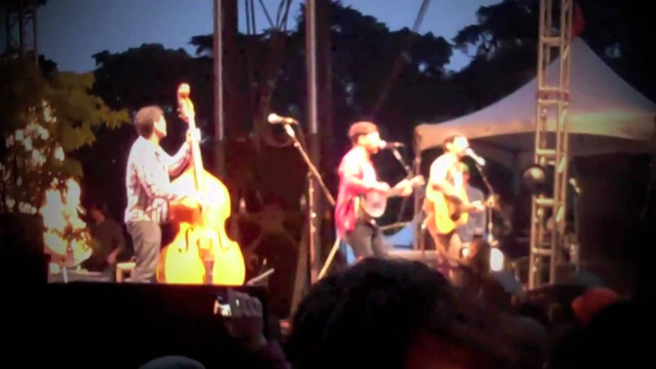 Avett Brothers  Laundry Room Live At Hardly Strictly Bluegrass 2010 Part 30