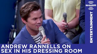 Andrew Rannells talks about having sex during intermission on Broadway