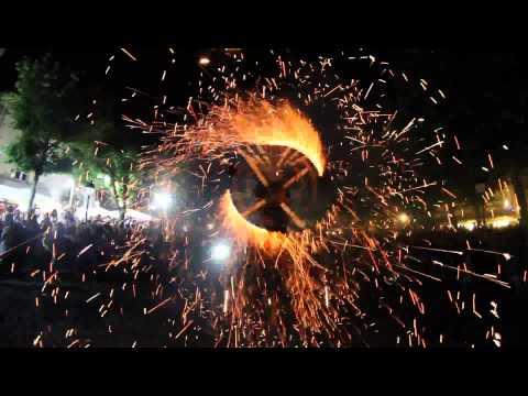 Toro de Fuego à Saint Jean de Luz