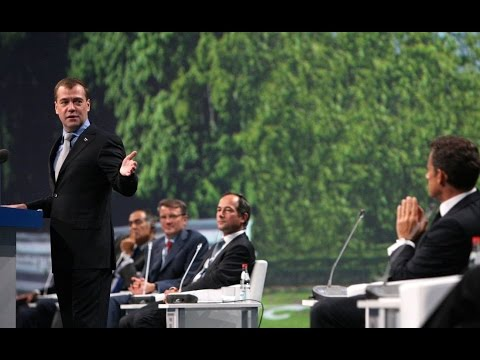 Dmitry Medvedev. Speech at St Petersburg International Economic Forum Plenary Session