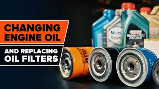 Change the Oil Filter yourself – free instructional video