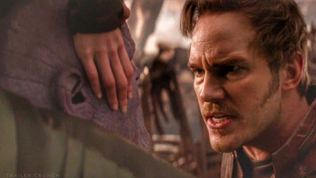 Star Lord Hits Thanos Scene - Avengers Infinity War (2018) Movie Clip HD - YouTube