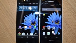 Европейский Sony Xperia Z против японского Xperia Z (comparison)(, 2013-03-03T14:01:08.000Z)