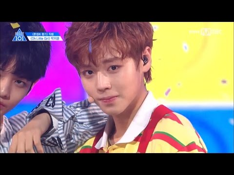 [STAR ZOOM IN] [PRODUCE 101 season2 PARK JI HOON] Level Test, Boy In Luv, Get Ugly, Oh Little Girl