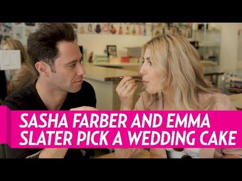 DWTS' Sasha Farber and Emma Slater Pick Their Perfect Wedding Cake