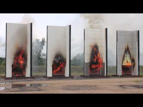 FIRE TEST 03 - BUILDING FAÇADE