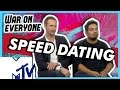 Alexander Skarsgård and Michael Peña Go Speed Dating | MTV Movies