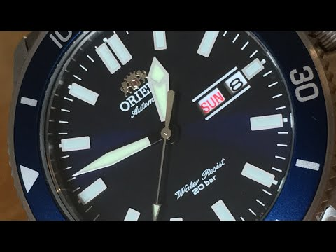 Orient Ray III Blue Collection (ORIENT RAY 3 BLUE RA-AA0009L) Unboxing & First Review