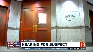 Hearing for Noblesville shooting suspect