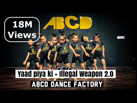 Yaad Piya Ki Aane Lagi   Illegal Weapon 2.0   Viral Girls   Dance   Choreo  ABCD Dance Factory
