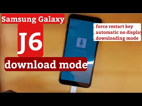 Samsung Galaxy j6 2018 Download Mode