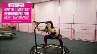 Упражнения на батуте с Анной Куркуриной | Workouts on trampoline