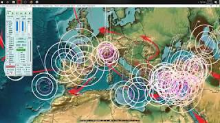 9/21/2018 -- New deep Earthquakes + Large area goes quiet -- Waiting on new large activity to strike