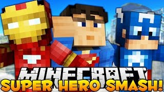 BRAND NEW Minecraft SUPER HERO Smash (I AM SPOODERMAN)