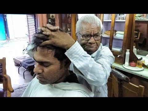 Head massage (Barbering since 2nd world war, Must Read Description)