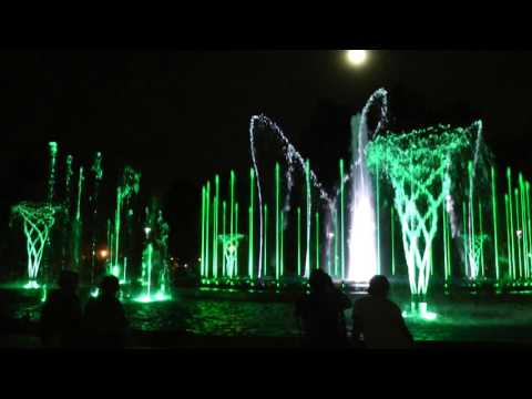 "Budapest Margaret Island Musical Fountain - ""Michael Bublé   Feeling Good"""