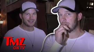Chris Pratt Talks About Anna Faris! | TMZ TV