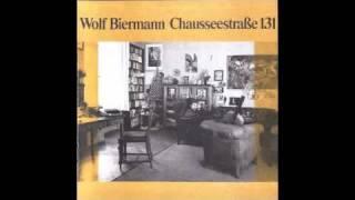 Wolf Biermann - Das Barlach-Lied
