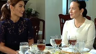 Startalk: Magkapatid na Lovi Poe at Sen. Grace Poe, nagpa-interview nang sabay for the first time