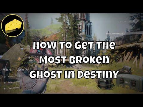 How To Get Most Broken Ghost In Destiny