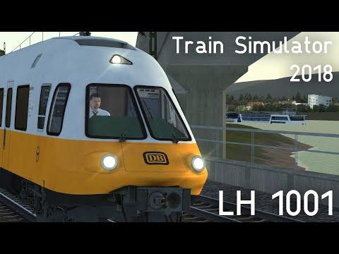 LET´S PLAY Train Simulator 2018 | LH 1001 nach Frankfurt Flughafen [vR ET403 LHA]