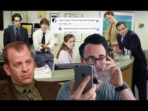 Is Toby The Scranton Strangler? (WITH ACTUAL PROOF) | My Drunk Answers, Episode 9.
