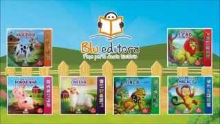 Livro Toque & Sinta Sonoro Blu Editora