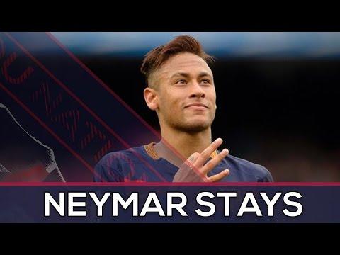 Neymar stays in Barça!   Guardiola knows Messi is not an option   Transfer Market   BARCA NEWS