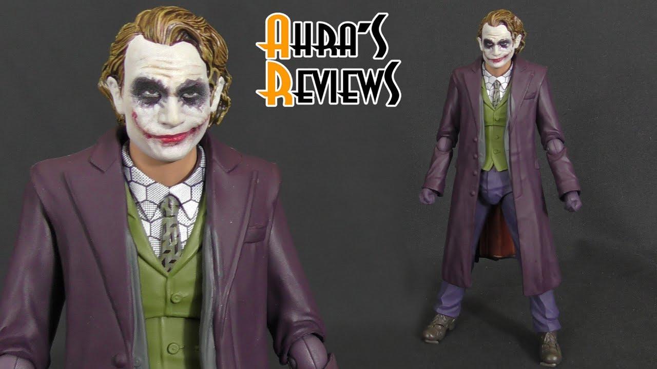 Batman The Dark Knight JOKER Heat Ledger Bandai Tamashii Figuarts Action Figure