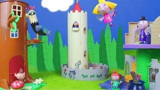 Ben und Hollys kleines Königreich Spielspaß: Neue Puppenhaus Spielsachen für Kinder deutsch