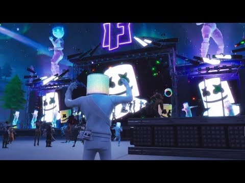 Fortnite Battle Royale - Marshmello Concert Live Event Showcase (Marshmello X Fortnite)