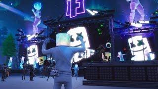 Fortnite Battle Royale - Marshmello Concert Live Event Showcase (Marshmello X Fortnite)