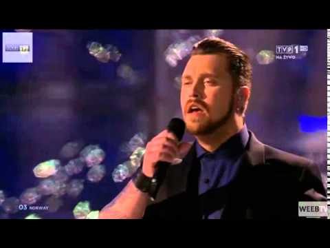 HD Eurovision 2014 Norway: Carl Espen - Silent Storm ( Live at Semi-final 2 )