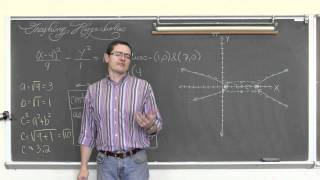 Graphing Hyperbolas in Standard Form