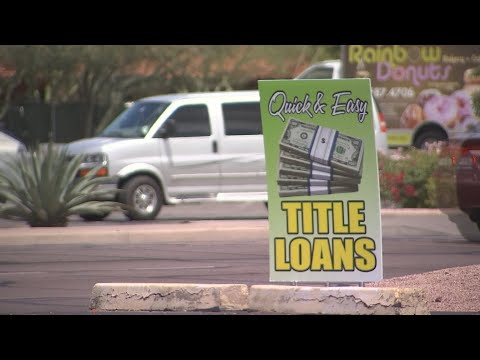 Fight To End Car Title Loans In Arizona