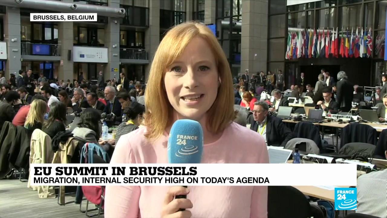 فرانس 24:EU Summit: migration, cybersecurity high on agenda