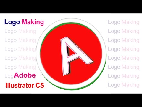 How To Make A Logo By Using Adobe Illustrator CS Tutorial II Aminul Graphic Designer I thumbnail