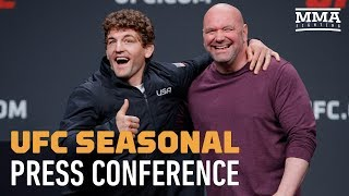 UFC Seasonal Press Conference - MMA Fighting