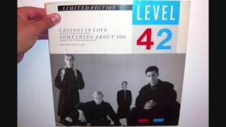 Level 42 - Hot water (1985 Live)
