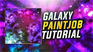 "How To Make ""GALAXY CAMO"" In COD WW2! COD WW2 GALAXY CAMO PAINT JOB TUTORIAL ( THIS WORKS IN BO4! )"
