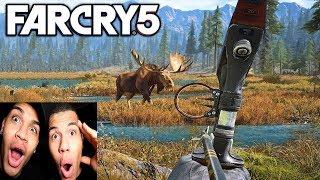 Far Cry 5: VERRÜCKTE TIERE AUF DER STRAßE | PrankBrosGames