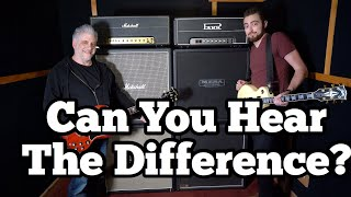 So Can You HEAR the Difference?