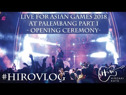 #HIROVLOG - BTS Live For Asian Games 2018 At Palembang Pt.1