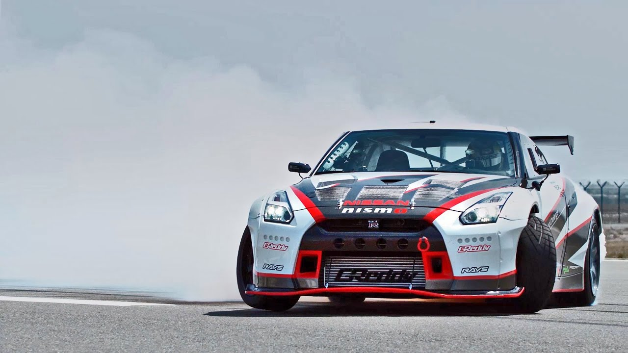 The Fastest Ever Drift 1 380 Hp Nissan Gt R Nismo Youtube