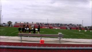 Jonathan Alder High School Marching Band  Vs Clinton Massie September 12th, 2014
