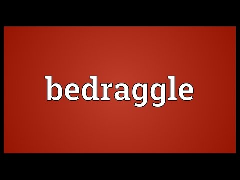 Header of bedraggle
