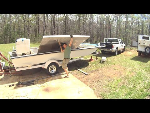 Tiny Off Grid Boat Camper 4 - Scrap Aluminum