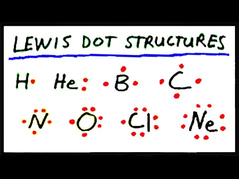 Lewis Dot Structures: Part 1 - YouTube