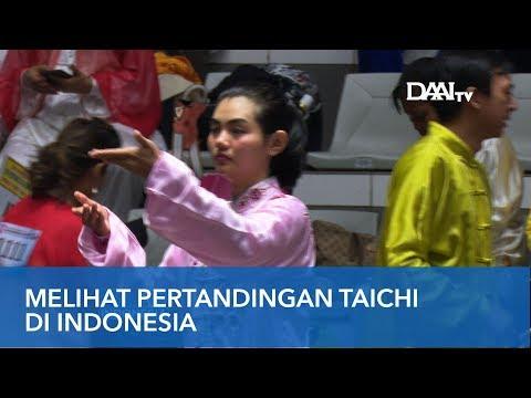 Masyarakat Nikmati Olahraga Tai Chi   Taiji dan Qigong Festival